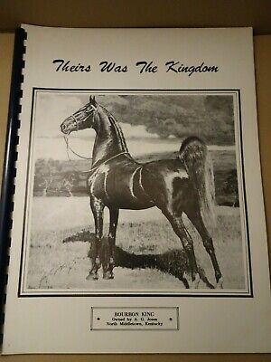 Saddlebred Horse Beginnings And History,North Middleton Kentucky Book,Scarce
