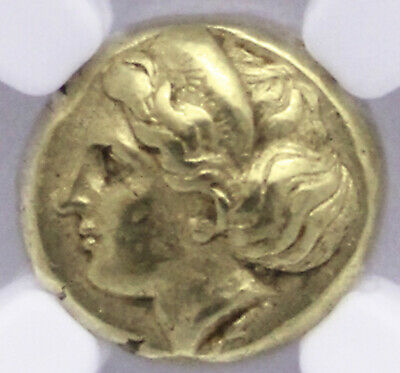 477-388 Bc Ionia Phocaea El Hecte Female !!Perfectly Centered!! Ngc Ch Au+ 5/5