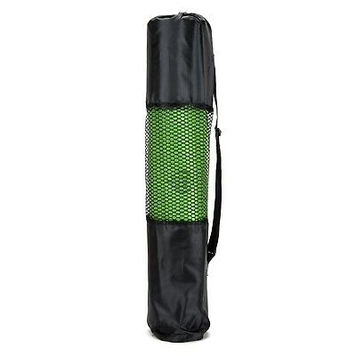 Yoga Mat 6mm Thick 173cm x 61cm Non Slip Exercise/Gym/Camping/Picnic - Green