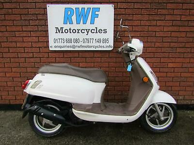 Sym Fiddle Ii 50 Cc Scooter, 2009, Excellent Cond Only 3,221 Miles, 12 Month Mot