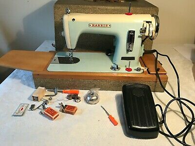 Vintage Harris electric sewing Machine