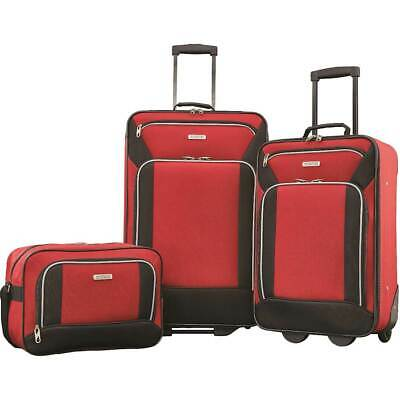 American Tourister - Fieldbrook XLT Expandable Wheeled Luggage Set (3-Piece) ...