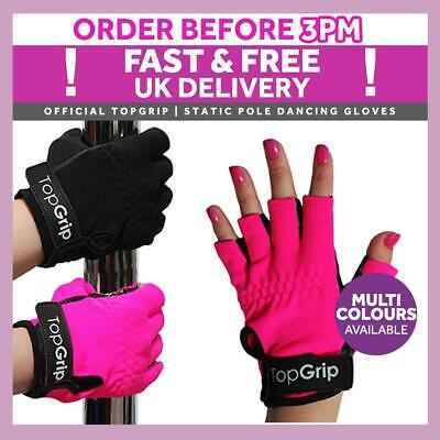 X-Dry Pole Grip GoGrip Non-Tack Pole Fitness Gloves