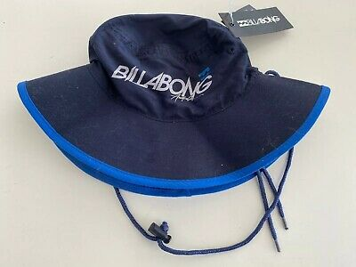 Bnwt Billabong Kids Fader Bucket Surf Hat (Reversible) Size Small Free Post