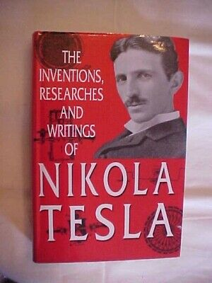 Nikola Tesla Vintage Old Books Patents Coil My Inventions Autobiography USB 279