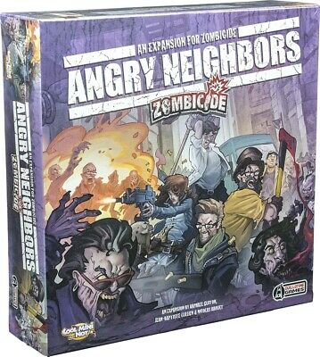 ZOMBICIDE - Angry Neighbors Board Game Expansion (Cool Mini or Not) #NEW
