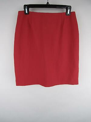 Petite Sophisticate NWT Women's sz 10 Pink Polyester Lined Pencil Skirts