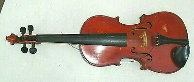 fine antique Czechoslovakia Stradivarius  model full size  violin ready to play