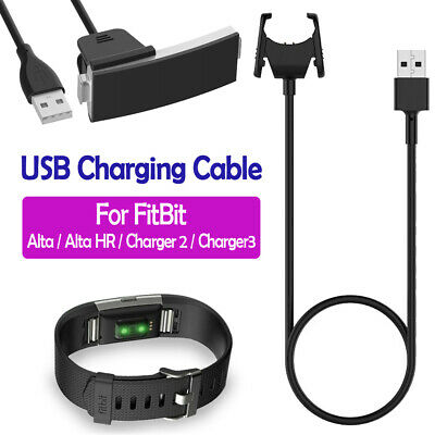 USB Charging Cable Cord Charger Lead for Fitbit Alta HR / Fitbit Charge 2 3