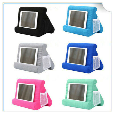 Multi-Angle Soft Lap Stand Soft Pillow Tablet Phone Holder For IPad Tablet New