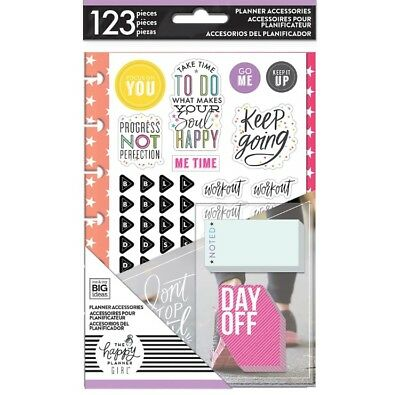 Wholesale 5 piece lot, Create 365 The Happy Planner Girl Mini Accessory Pack