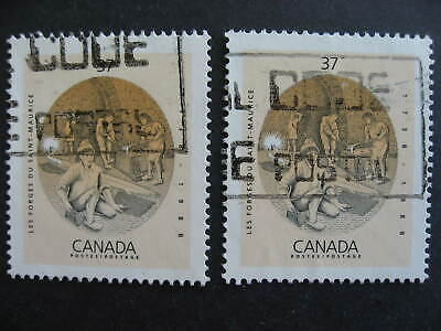Canada Ut 1216i feather in cap, and 1216ii cuff link varieties used,see pictures
