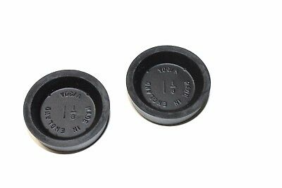 """Pair Of Uk Made Brake Wheel Cylinder Cup Seals 1 1/8"""" Bore Size"""