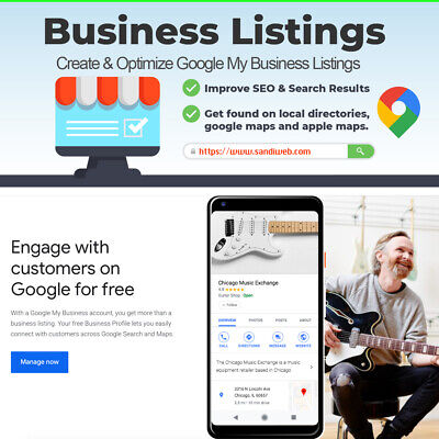 Create, Optimize or Deleting your Google My Business Local Listing