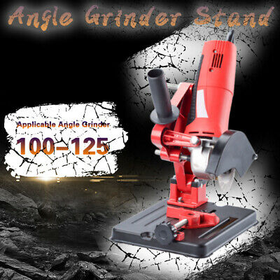 Angle Grinder Stand 45° Adjustable Cast Iron Cutting Fixing Clamp Holder Bracket