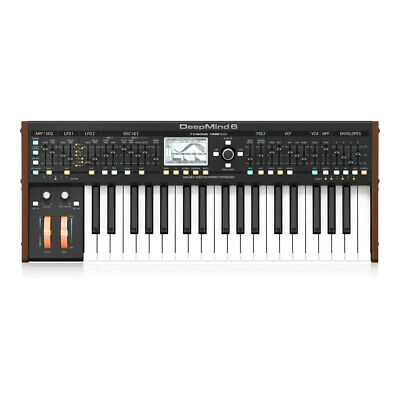 Behringer Deepmind 6 True Analog 6-Voice Polyphonic Synthesizer Studio
