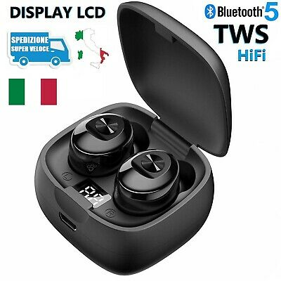 Cuffie Auricolari Bluetooth 5.0 Stereo Wireless TWS SPORT Samsung iPhone Huawei
