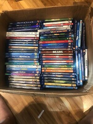 Disney Marvel Pixar Pick 4 Movies (Blu-Ray) - Huge List (No Digital)