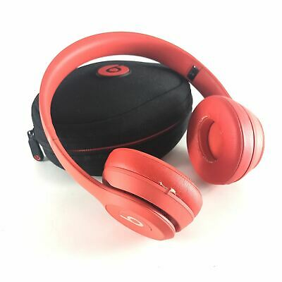 Beats by Dr. Dre Solo3 Product RED Wireless On-Ear Headphones Read