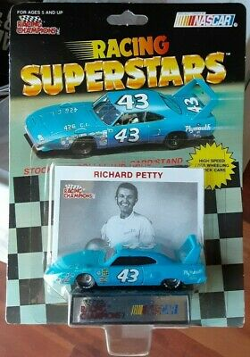 1991 Racing Champions-Racing Superstars #43 Richard Petty ACTION FIGURE NEW