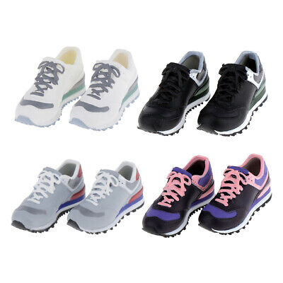 4 Pairs Cute Girl Dolls Sneakers Shoes for 1/6 BB Licca/Momoko/Azone Outfits