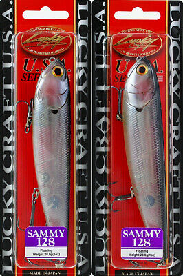222 Ghost Tennessee Shad LUCKY CRAFT Gunfish 115