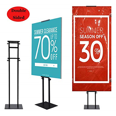YDisplay Heavy Duty Poster Stand Pedestal Sign Holder Stand Poster Board Holder