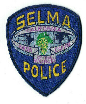 FRESNO CALIFORNIA POLICE HELICOPTER AIR UNIT SHOULDER PATCH