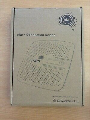 Netcomm nbn NDD-0300 connection device NEW  FTTC Fibre to the curb #9094
