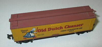 "Kadee MTL 49010  40' Wood Reefer ""Old Dutch Cleanser"" 2953 > Top"