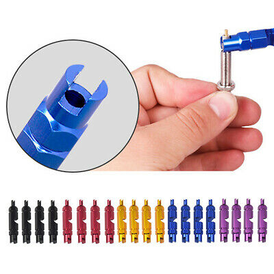 Bicycle Valve Core Multi Function Tool Removal Wrench Screwdriver WjHWf LwUaP