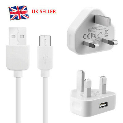 For Huawei P30 P20 Pro Lite Super Charge Fast Mains Charger Plug USB-C Cable