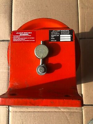 "Jeamar Winches, Single 8"" Sheave, Pulley"