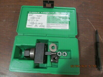 Greenlee RS232 Panel Punch 25 Pin D-Subminiature
