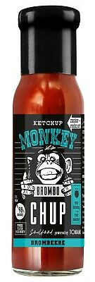 (100ml €1,66) Ketchup Monkey Brombo CHUP Brombeere 240ml