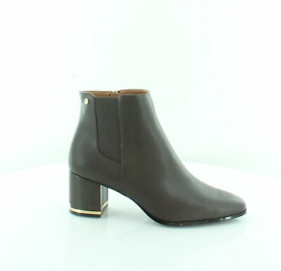 Calvin Klein Fioranna Brown Womens Shoes Size 9.5 M Boots MSRP $149
