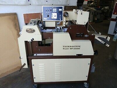 Therm-o-type Super SF-2000 Foil Stamper Thermotype