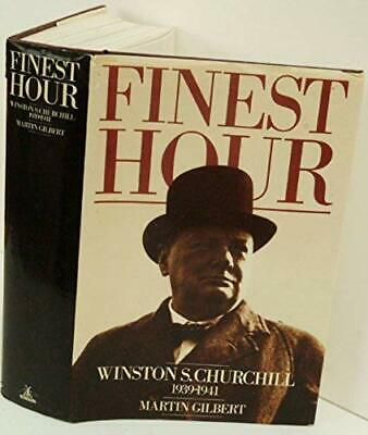 Winston S. Churchill. Vol. 6 Finest hour, 1939-1941