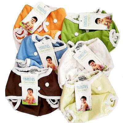 Thirsites Duo Wrap, Diaper Cover, Size 1 6-18lbs New With Tags NWT : *LOT OF 6*