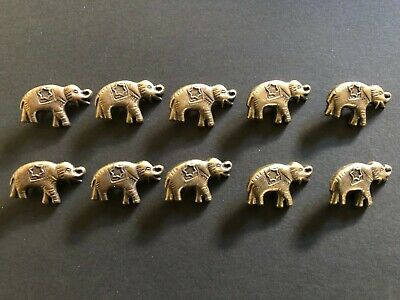 Craft Leather Leatherwork Elephant Studs Rivets Right Facing X10