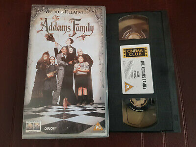 The Addams Family  original 1991   VHS  Tape   V Good condition