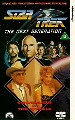 Star Trek The Next Generation Contagion / The Royale [VHS] [1988]
