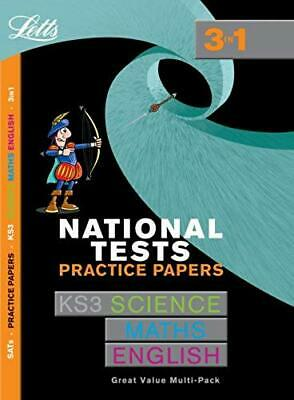 Letts Key Stage 3 Practice Test Papers – KS3 National Test Practice Papers...