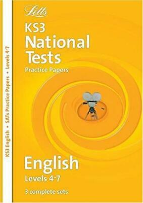 Letts Key Stage 3 Practice Test Papers – KS3 English National Test Practice Pape