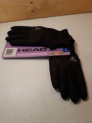 Head Womens Sz L Black Hybrid Glove