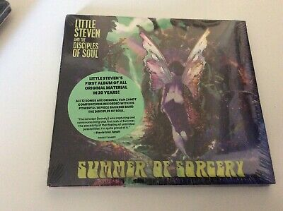Little Steven And The Disciples Of Soul Summer Of Sorcery Cd New/Sealed.  I1