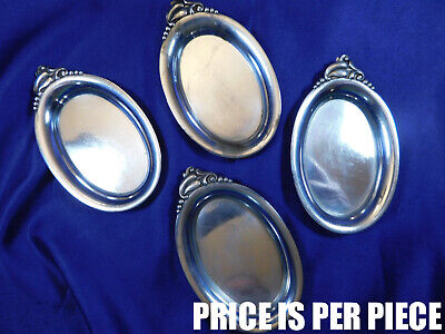 Webster Sterling Silver Nut Dish - Very Good Condition A
