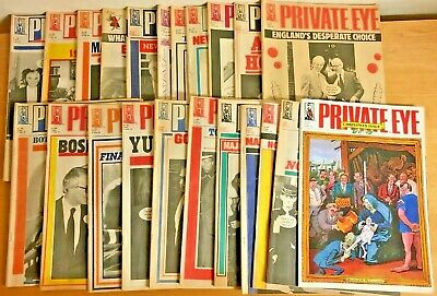 Private Eye Magazine 1992 22 Issues