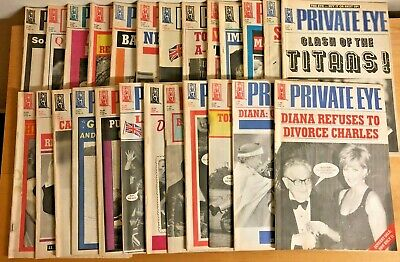 Private Eye Magazine 1995 25 Issues
