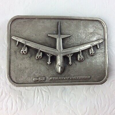 B-52 Stratofortress Belt Buckle By The Buckle Connection Military